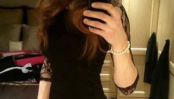 Petite robe noire sexy sur Lorient